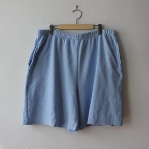Vintage Baby Blue Shorts Made in Canada XL